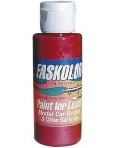 Vopsea lexan Airbrush -Faskolor Candy Red 60ml