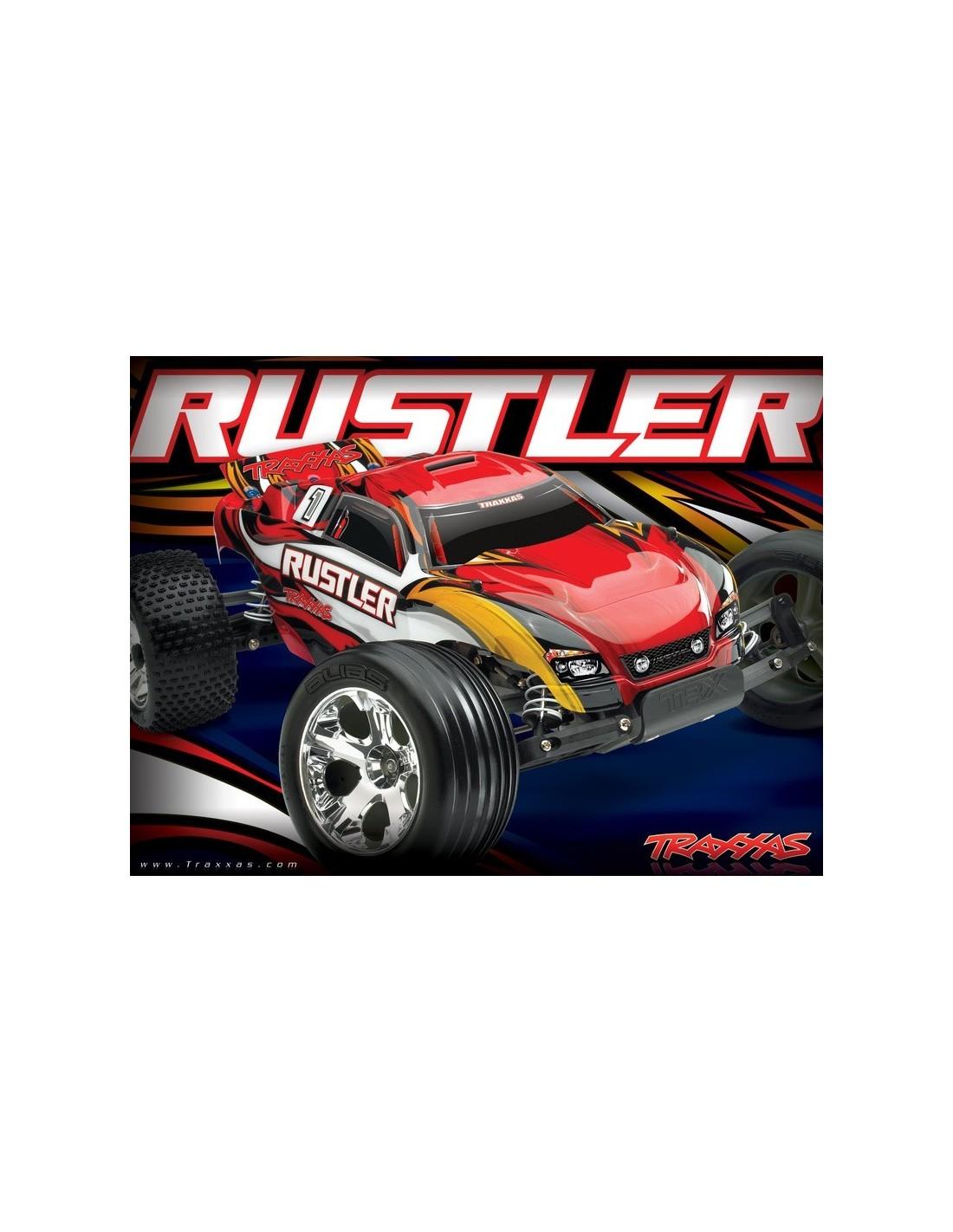 Traxxas Rustler 1 10 Tq Rtr