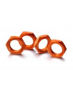 Piulite roata 17mm (portocaliu/4buc)