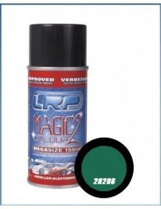 Spray vopsea lexan LRP Green Metallic 150ml