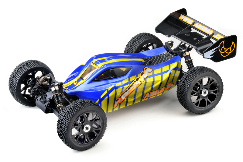 """Automodel Absima 1:8 EP Buggy """"AB2.8BL"""" 4WD Brushless RTR (include Lipo si incarcator)"""
