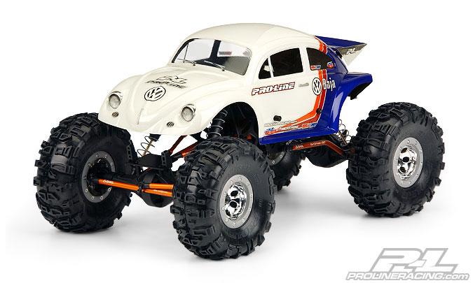 Caroserie Proline Volkswagen Baja Bug 1/10 Rock Crawling