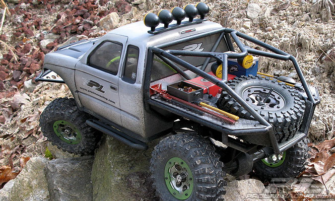 Set Accesorii la Scara Proline 1/10 Crawler/Trail/Monster Truck (4 Buc)