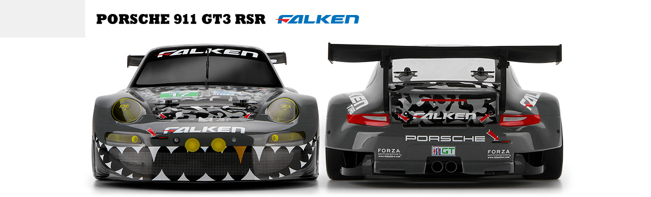Automodel RC HPI RS4 Sport 3 Porsche 911 GT3 Brushless RTR