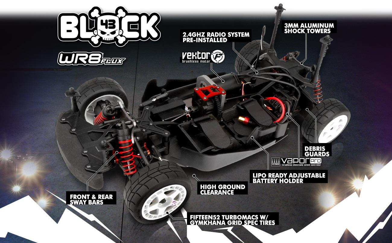 Automodel hpi wr8 flux ken block rx43 intergalactic 2015