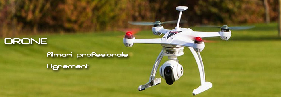 Drone pentru filmari profesionale si agrement