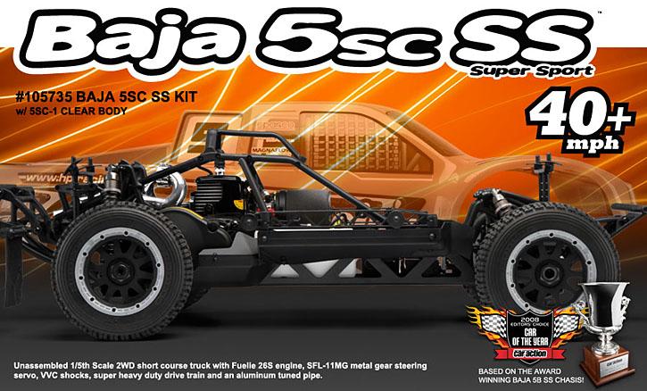 Automodel HPI Baja 5SC SS