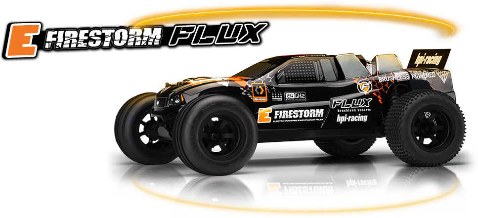 Hpi E Firestorm Flux RTR 1/10 2WD Truck Brushless