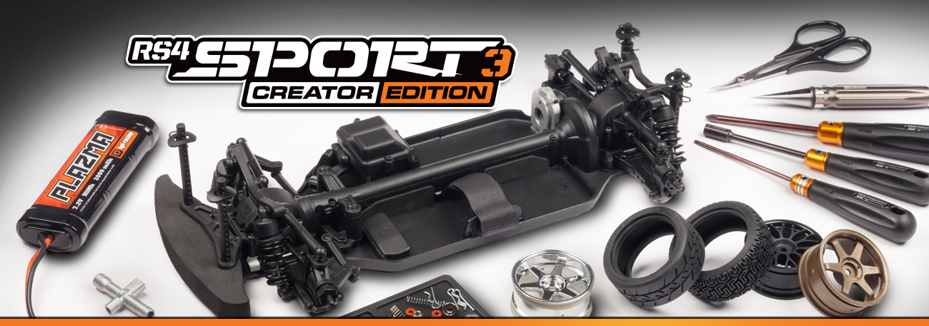 Automodel RC Hpi Rs4 Sport 3 Creator Edition - Kit asamblare automodel
