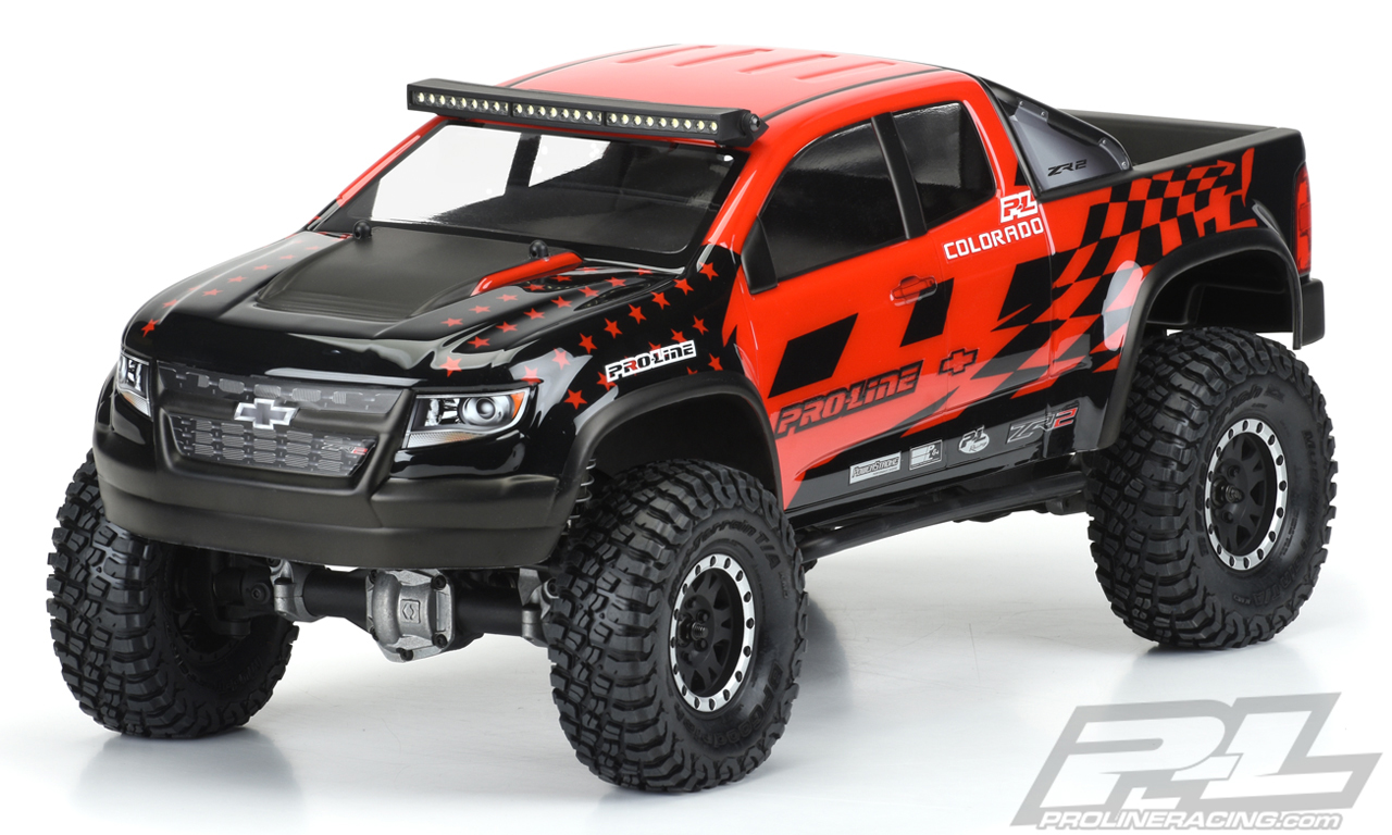 Caroserie Porline Chevy Colorado ZR2