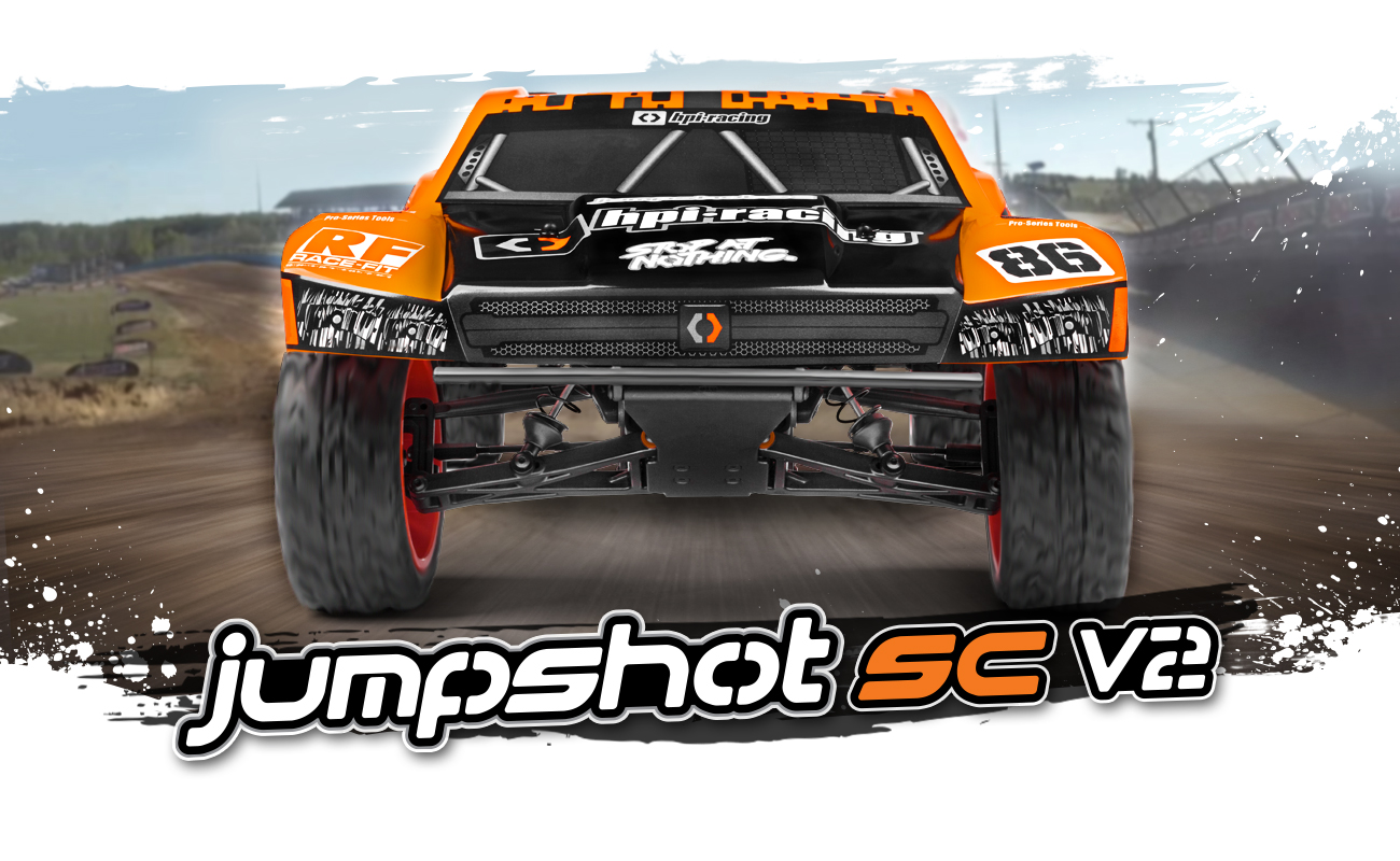Automodel RC electric cu telecomanda HPI JUMPSHOT SC