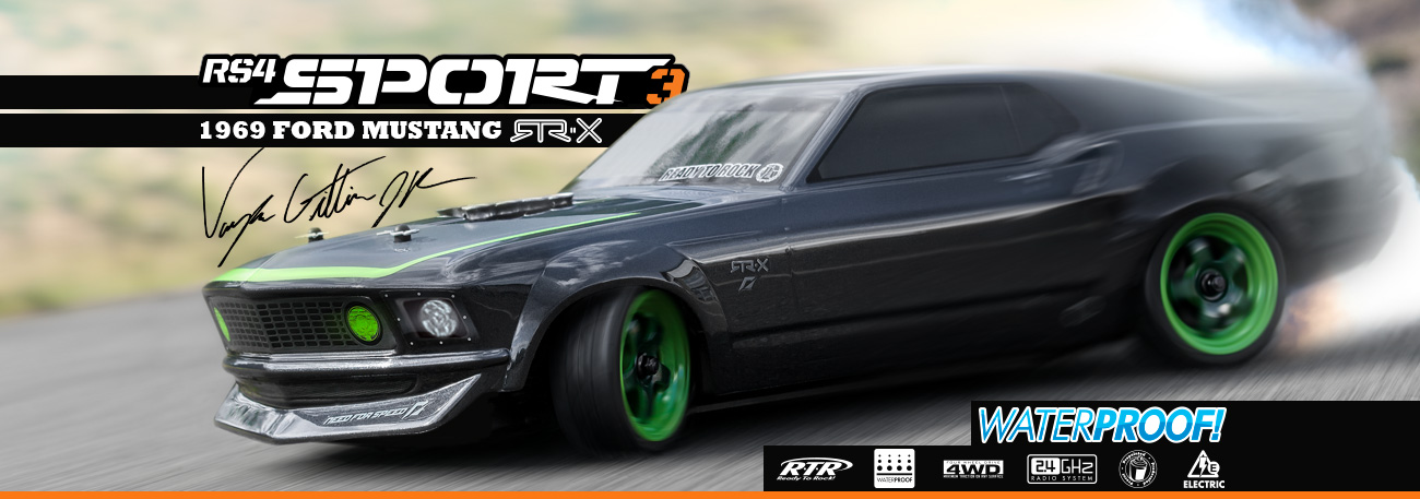 Automodel RC HPI RS4 Sport 3 Mustang Spec5 RTR Tuning  Brushless RTR
