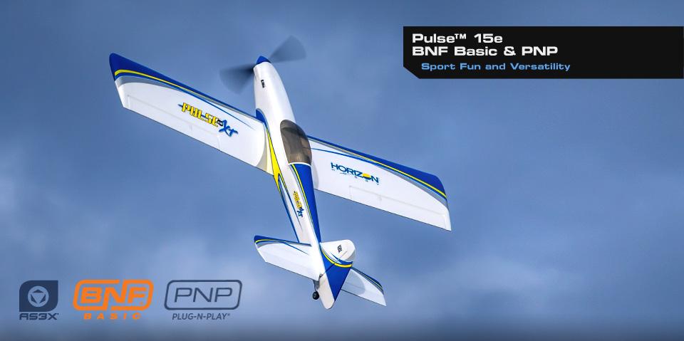 Aeromodel Eflite Pulse 15E