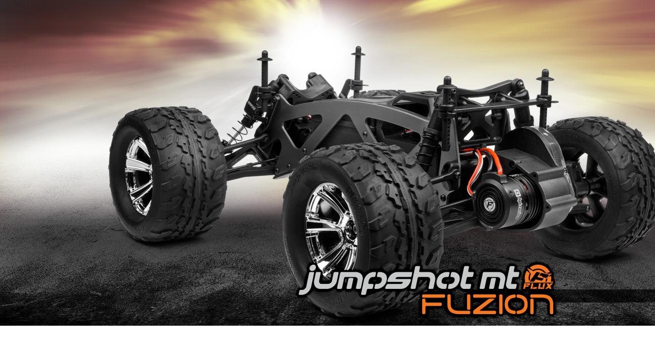 Automodel RC electric cu telecomanda HPI JUMPSHOT Fuzion MT