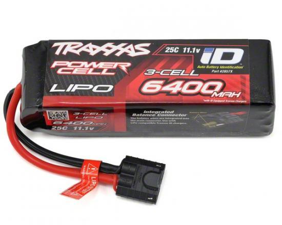 Acumulator Lipo 11.1V 3S Traxxas ID 6400mAh 25C