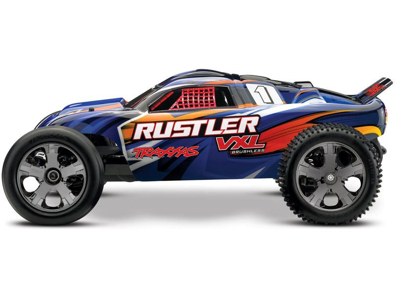 Automodel Traxxas Rustler VXL TSM Brushless