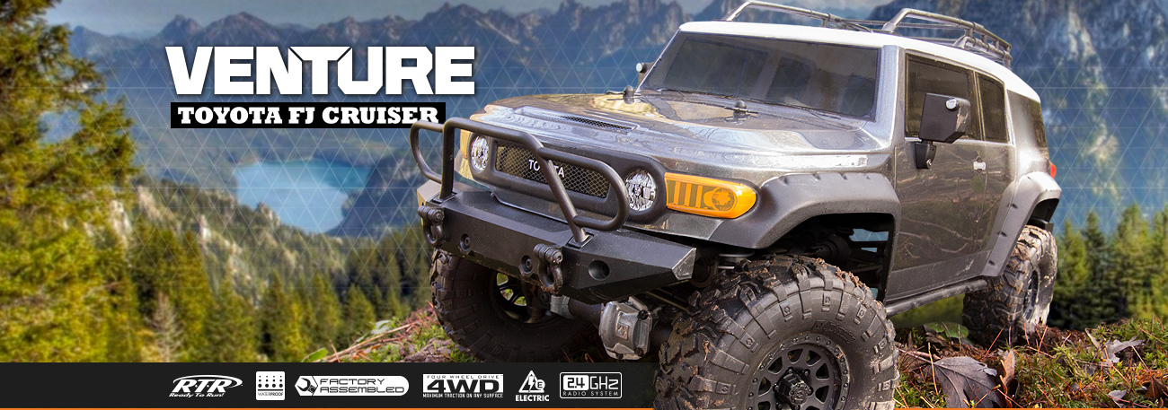 Automodel RC Trail Scale Hpi Racing Venture Toyota FJ Cruiser Romania